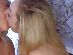 sexy blonde girls hot n sloppy
