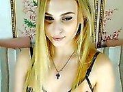 Blonde dolce di Chick Avete Masturbate il Organismo calda su C