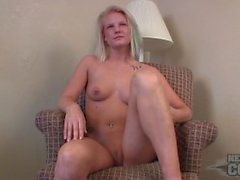 petite blonde jules first time ever naked on camera