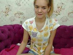 Slave blonde live masturbation des spectacles de jouets sur webcam