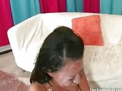 Eva Angelina creamed fullt av monster tuppar