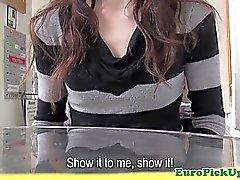 Magrinho adolescentes puxada indica seus pequenos mamas