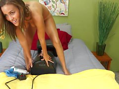 Karter Foxx Riding Sybian