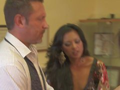 Office foursome with Kaylani Lei