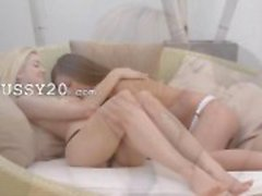 Lesbian Модная влюблены двухместный игрушкой