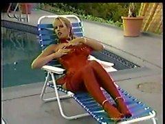 Kimberly Kupps Striptease & Dildo
