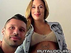 PUTA LOCURA Amateur schlug mit dem bulgarischen schwangere von GF
