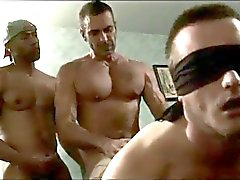 Two Huge Cocks Bareback White Dude And Cum