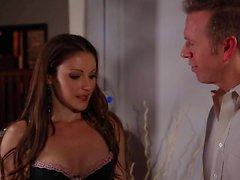 Jayden Jaymes gets Her huge tits sucked