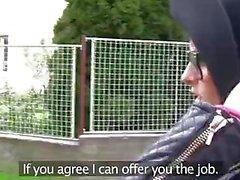 PublicAgent Kläder Studenten knullar en främling