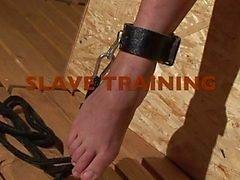 mooie slaaf