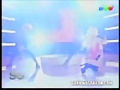 Sabrina Sabrok atractiva RockStar de de Salma Hayek en Mundo