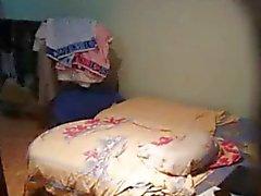 Junger russischer redhead auf hidden cam