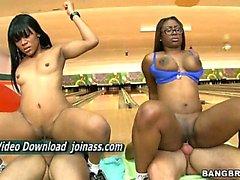 Hammer Bella and Jayla Girls have huge ass