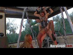 Racy A2M vs Squirting Simony Diamond, Tiffany Shine, Bonnie Rotten, Mea Melone