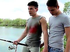 Glabra teenager coppia gay si da pesca per fare sesso per culo Culo in SCOPARE
