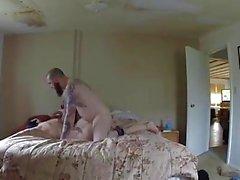 hidden cam Strandhaus Teil 2 ohne Kondom Creampie