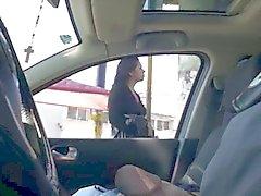 knipperen in de auto 07 uitstekend