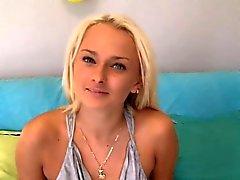 Blond sexig Stranden baben