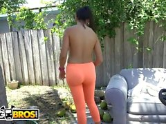 BANGBROS - Dirty Latin Maid Mercedes Cleans Out Sean Lawless's Pipes!