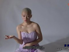 Beautiful Girl Headshave