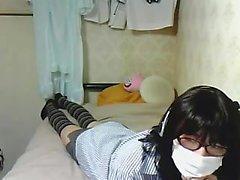 Tattoed Asian Girl Masturbation Webcam für mehr Besuch