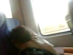 Belleza adolescente Chubby de del tren