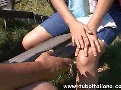Italienischer Amateur Dreier