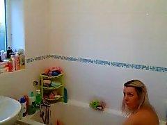Wife Caugh Masturbating In Bath Tube