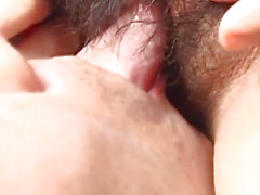 Japanese AV Model moans while sucking hard