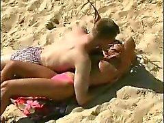 Könet på stranden i