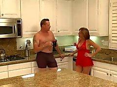 Sexy di la mamma maturo sbattuto nella cucina ! ! (Hot )
