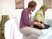Devout Pakistani Muslim Lady in Green Hijab cannot resist Big Western Cocks