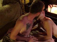 Straight Jock Amateur ausgetrickst in Homosexuell Blowjob