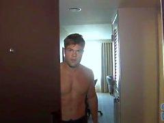 100% gerade College Jock Bodybuilder Stud j? O und für Mädchen duschen