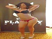 Sexy del Messico Diosa ballare della samba lo striping
