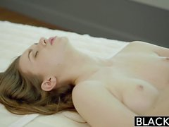 BLACKED Tali Dovas Boyfriend Lets her Try a Big Black Cock