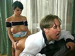Cinture falliche Woman Fucks Man