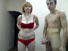 Mature Woman And Young Guy Fucking A Webcam Porno Video