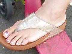 Candid feet - Polonyalı anne