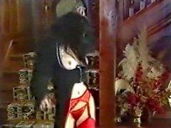 Número de la suerte - goth de la vendimia en las medias de los bailes y se burla