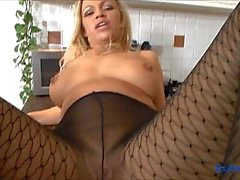 Pantyhosed Taylor Morgan teasing