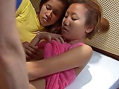 Saori & Saya Shower but no like cum on face thaigirltia.com