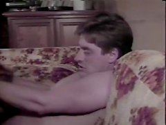 Aja Йон Dough Робина Lee в ретро полового кино