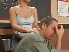 Emily Evermoore is a naughty teen being fucked hard in class