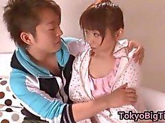 An Nanairo Lovely Asian schoolgirl part4