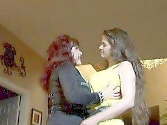 Two Milf Lesbians Love Kissing