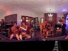 VR 360 big swinger orgy