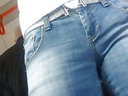 Nice MILF in jeans BG