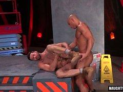 cumshot ile Big Dick sporcu anal